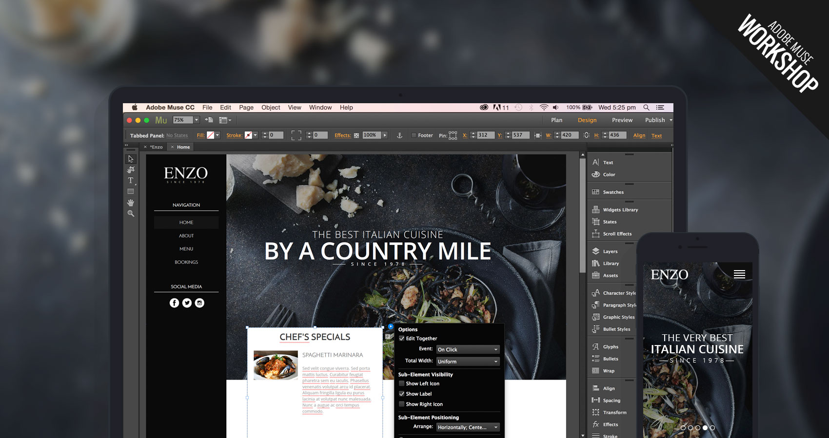 Price of Adobe Muse 2015 Software