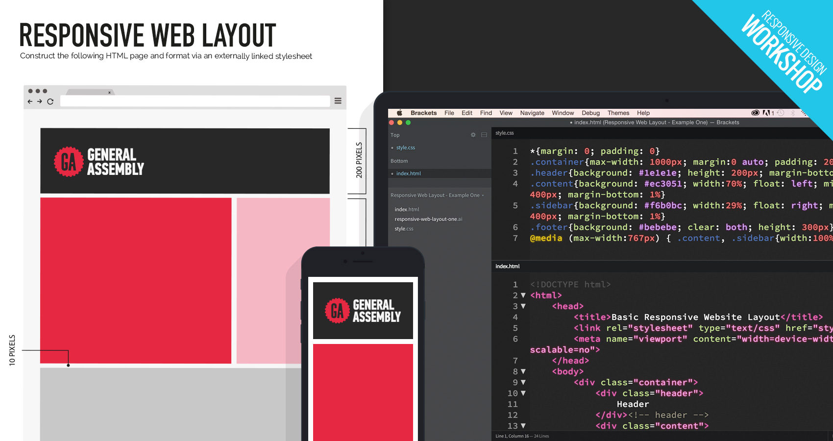 Learn how to code responsive websites philboss design - How to learn web designing at home free ...
